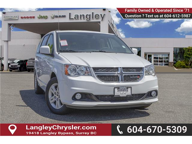 2018 Dodge Grand Caravan Crew (Stk: J314039) in Surrey - Image 1 of 24