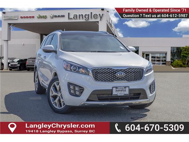 2017 Kia Sorento 3.3L SX+ (Stk: K570829A) in Surrey - Image 1 of 25
