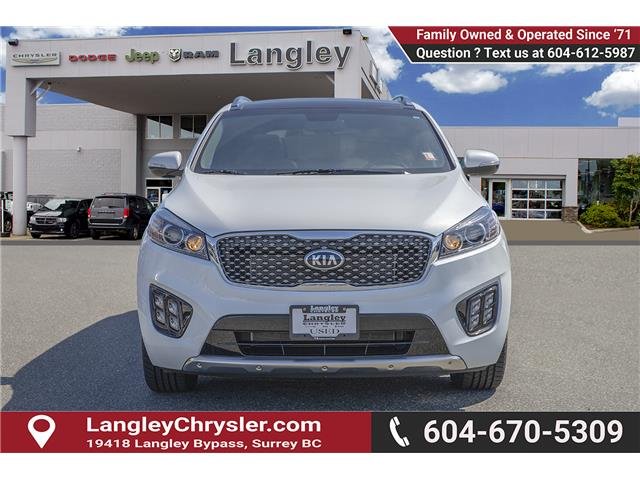 2017 Kia Sorento 3.3L SX+ (Stk: K570829A) in Surrey - Image 2 of 25