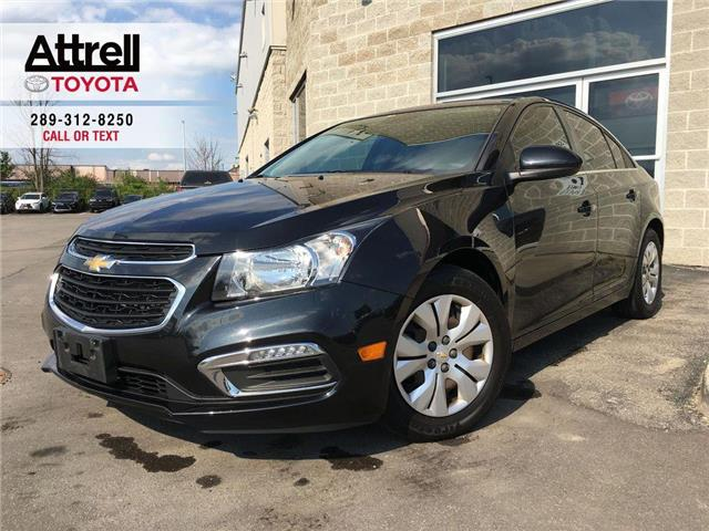 2016 Chevrolet CRUZE LIMITED LT BACK UP CAMERA, STEERING WHEEL CONTROLS, ABS, K (Stk: 43901A) in Brampton - Image 1 of 24