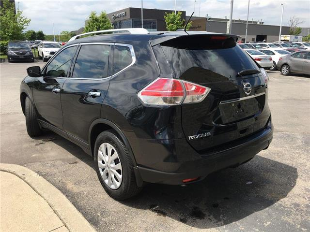 2016 Nissan Rogue S FWD BACK UP CAMERA, BLUETOOTH, ABS, ROOF RAILS,  (Stk: 44600A) in Brampton - Image 10 of 26