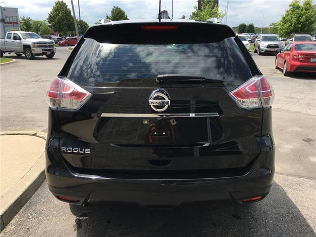 2016 Nissan Rogue S FWD BACK UP CAMERA, BLUETOOTH, ABS, ROOF RAILS,  (Stk: 44600A) in Brampton - Image 16 of 26