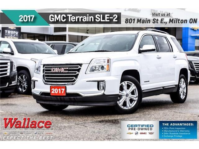 2017 GMC Terrain SLE-2/AWD/HTD SEATS/7 SCRN/PIONEER SND/18 RIMS (Stk: PR5065) in Milton - Image 1 of 27