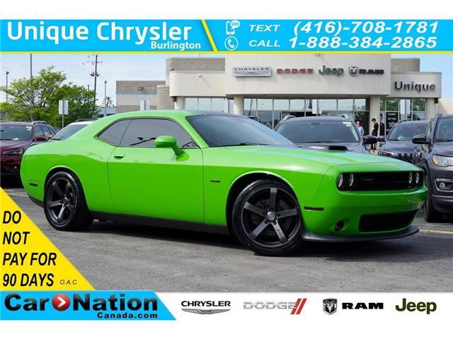 2017 Dodge Challenger R/T| SHAKER| HARMAN KARDON| NAV| SUNROOF (Stk: K731A) in Burlington - Image 1 of 50