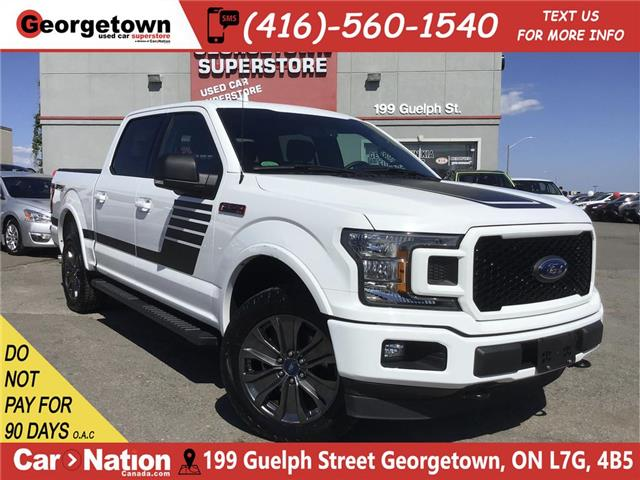 2018 Ford F-150 XLT SPORT | 4X4 | ECOBOOST|SPECIAL EDITION|NAVI (Stk: P12205) in Georgetown - Image 1 of 31