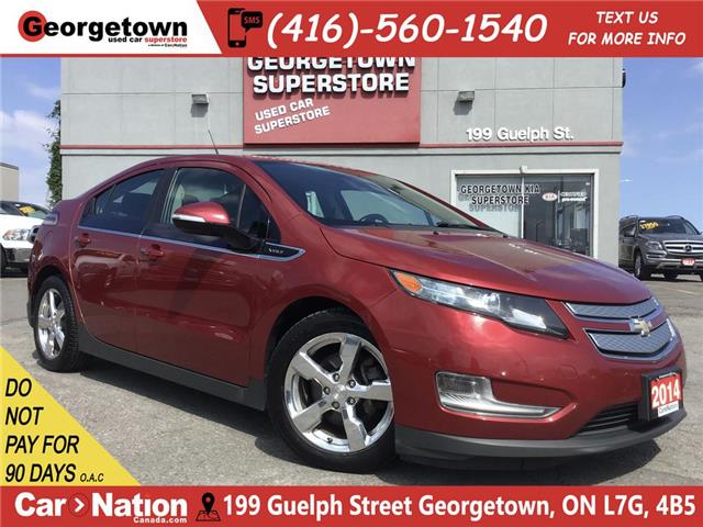 2014 Chevrolet Volt LEATHER | HTD SEATS | ALLOYS | PLUG IN HYBRID (Stk: P12246) in Georgetown - Image 1 of 27