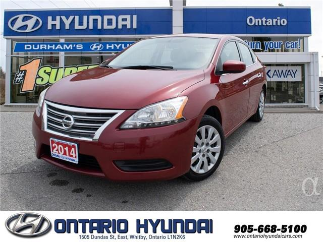2014 Nissan Sentra 1.8 S (Stk: 35934K) in Whitby - Image 1 of 19