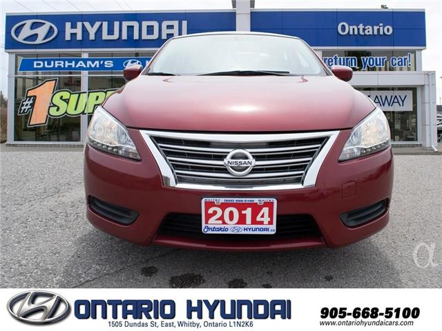 2014 Nissan Sentra 1.8 S (Stk: 35934K) in Whitby - Image 13 of 19