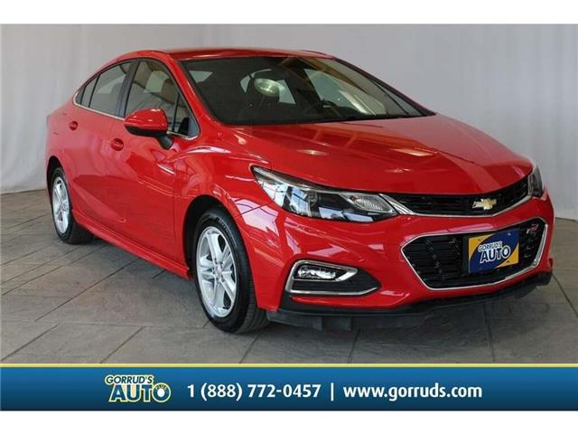 2018 Chevrolet Cruze LT Auto 1G1BE5SM5J7165096 165096 in Milton