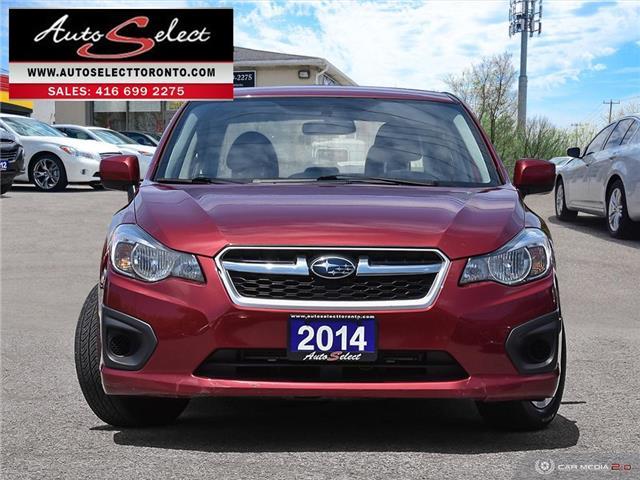 2014 Subaru Impreza AWD (Stk: 14ITMR7) in Scarborough - Image 2 of 27