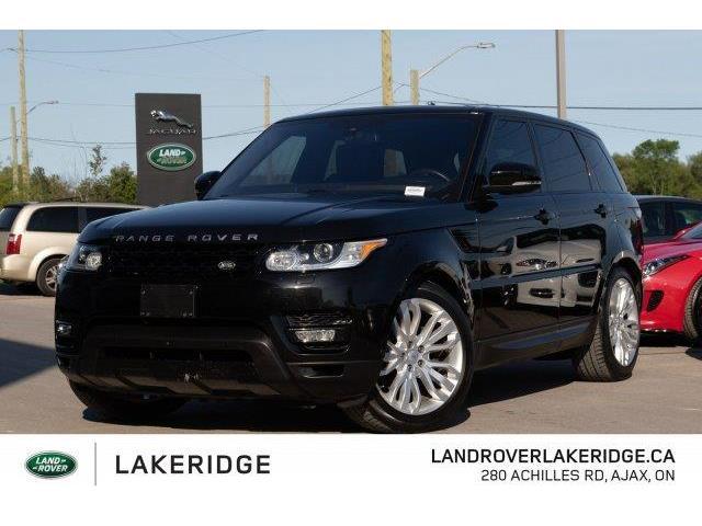 2016 Land Rover Range Rover Sport DIESEL Td6 HSE (Stk: P0134) in Ajax - Image 1 of 30