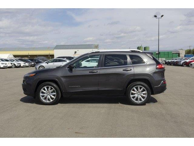 2015 Jeep Cherokee Limited (Stk: V571) in Prince Albert - Image 8 of 11