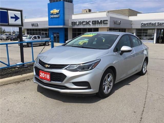 2018 Chevrolet Cruze LT Auto (Stk: 187042R) in Grimsby - Image 1 of 14