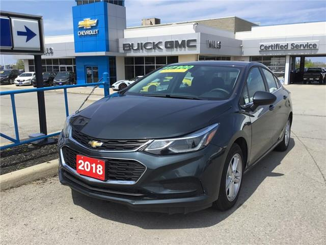 2018 Chevrolet Cruze LT Auto (Stk: 189230R) in Grimsby - Image 1 of 14