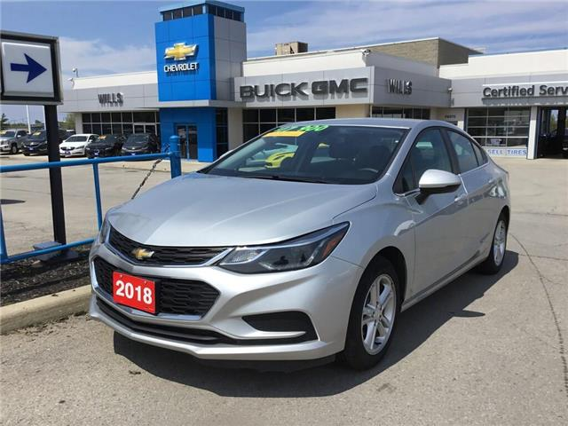 2018 Chevrolet Cruze LT Auto (Stk: 183645R) in Grimsby - Image 1 of 14