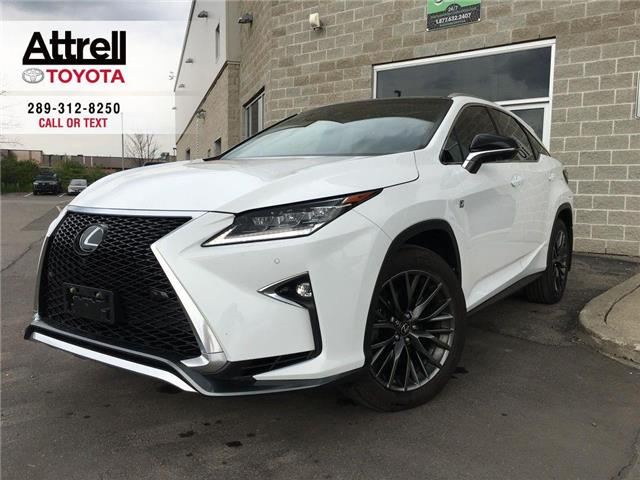 2017 Lexus RX 350 F SPORT 3 AWD, NAVI, LEATHER, PANO SUNROOF, ALLOY, (Stk: 8689) in Brampton - Image 1 of 28