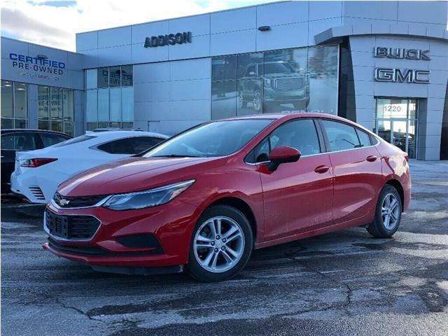 2018 Chevrolet Cruze LT Auto (Stk: U121000) in Mississauga - Image 1 of 18