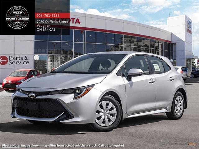 2019 Toyota Corolla Hatchback CVT (Stk: 68986) in Vaughan - Image 1 of 24