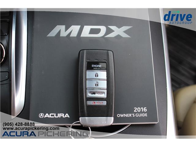 2016 Acura MDX Navigation Package (Stk: AP4881) in Pickering - Image 33 of 33