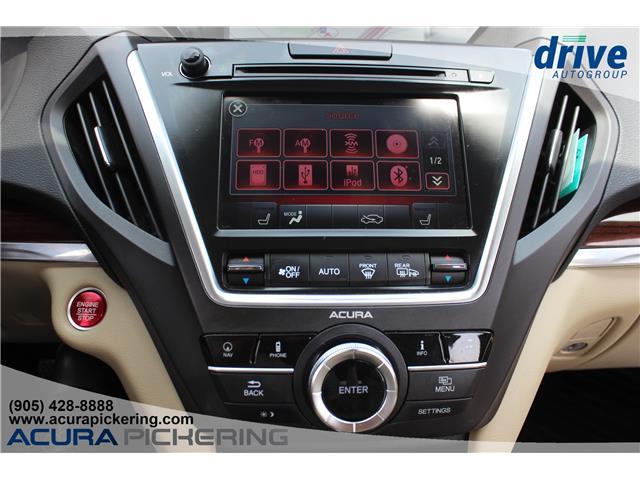 2016 Acura MDX Navigation Package (Stk: AP4881) in Pickering - Image 16 of 33