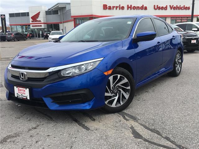 2016 Honda Civic EX (Stk: U16292) in Barrie - Image 1 of 18