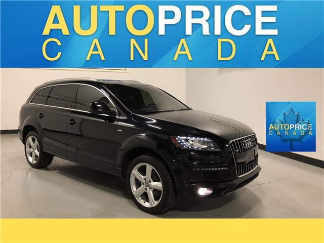 2015 Audi Q7 3.0 TDI Vorsprung Edition (Stk: W0422) in Mississauga - Image 1 of 23