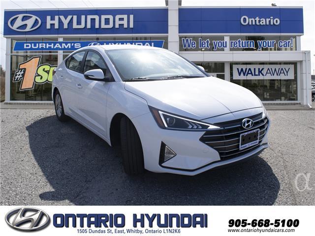2020 Hyundai Elantra Preferred (Stk: 914748) in Whitby - Image 7 of 14