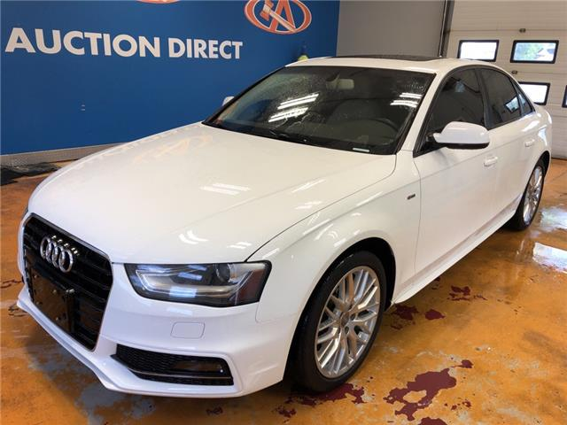 2015 Audi A4 2.0T Komfort (Stk: 15-038162) in Lower Sackville - Image 1 of 16