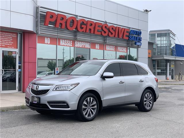 2014 Acura MDX Navigation Package (Stk: EB503852) in Sarnia - Image 1 of 32