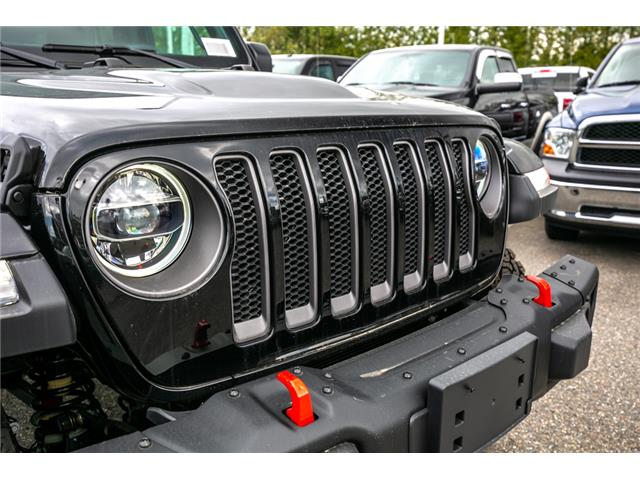 2019 Jeep Wrangler Unlimited Rubicon (Stk: K594968) in Abbotsford - Image 10 of 19