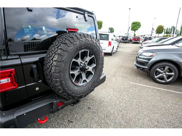 2019 Jeep Wrangler Unlimited Rubicon (Stk: K594968) in Abbotsford - Image 13 of 19