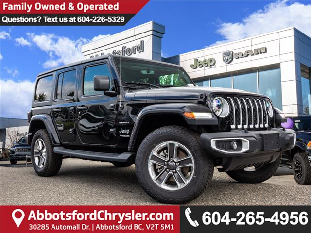 2019 Jeep Wrangler Unlimited Sahara (Stk: K596822) in Abbotsford - Image 1 of 22