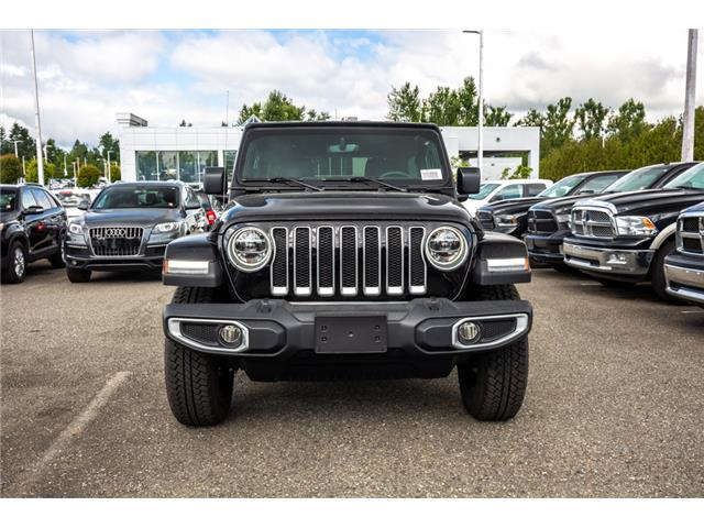 2019 Jeep Wrangler Unlimited Sahara (Stk: K596822) in Abbotsford - Image 2 of 22