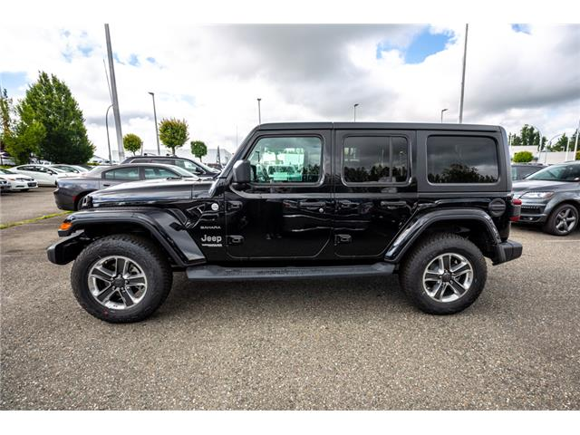 2019 Jeep Wrangler Unlimited Sahara (Stk: K596822) in Abbotsford - Image 4 of 22