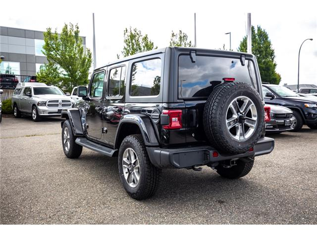 2019 Jeep Wrangler Unlimited Sahara (Stk: K596822) in Abbotsford - Image 5 of 22