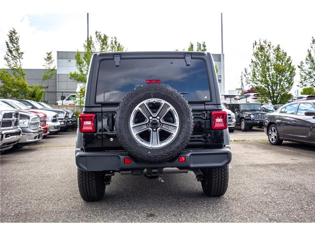 2019 Jeep Wrangler Unlimited Sahara (Stk: K596822) in Abbotsford - Image 6 of 22