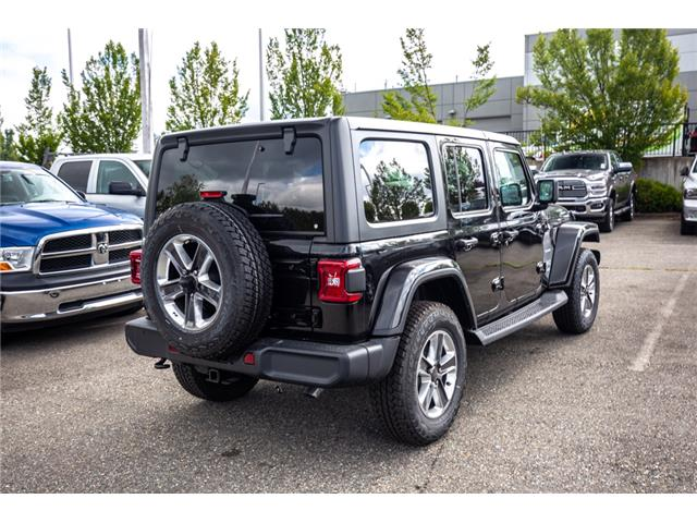 2019 Jeep Wrangler Unlimited Sahara (Stk: K596822) in Abbotsford - Image 7 of 22