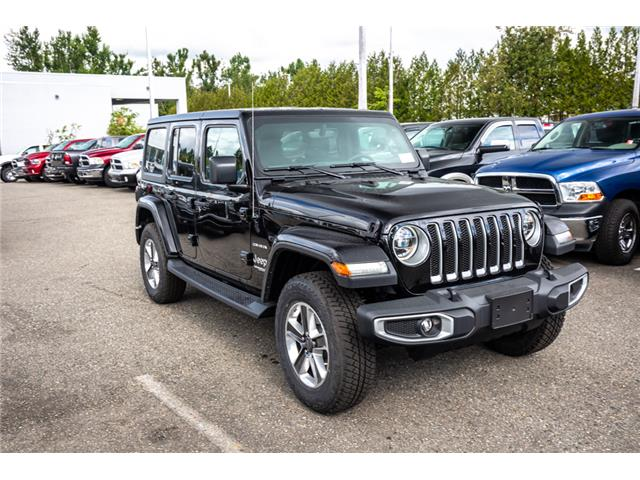 2019 Jeep Wrangler Unlimited Sahara (Stk: K596822) in Abbotsford - Image 9 of 22