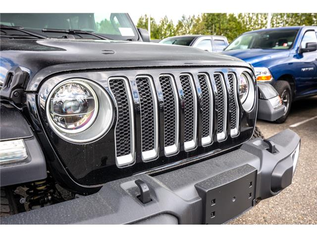 2019 Jeep Wrangler Unlimited Sahara (Stk: K596822) in Abbotsford - Image 10 of 22