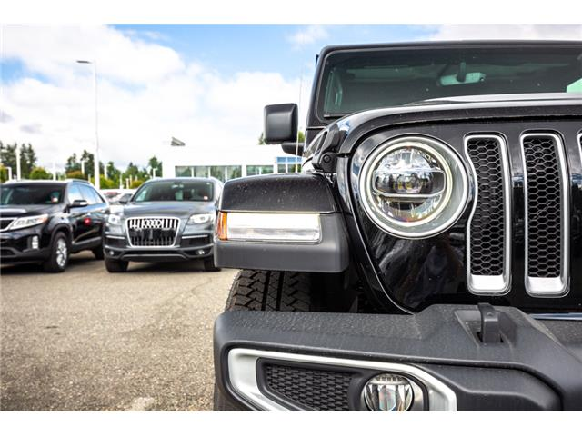 2019 Jeep Wrangler Unlimited Sahara (Stk: K596822) in Abbotsford - Image 11 of 22