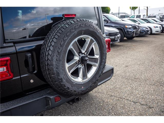 2019 Jeep Wrangler Unlimited Sahara (Stk: K596822) in Abbotsford - Image 13 of 22
