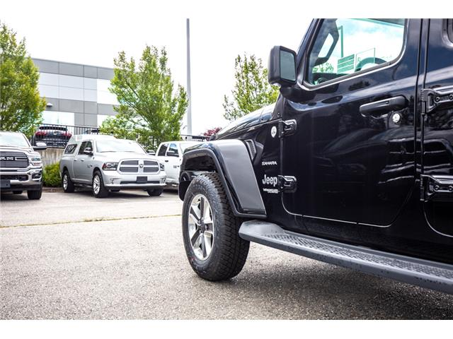 2019 Jeep Wrangler Unlimited Sahara (Stk: K596822) in Abbotsford - Image 14 of 22