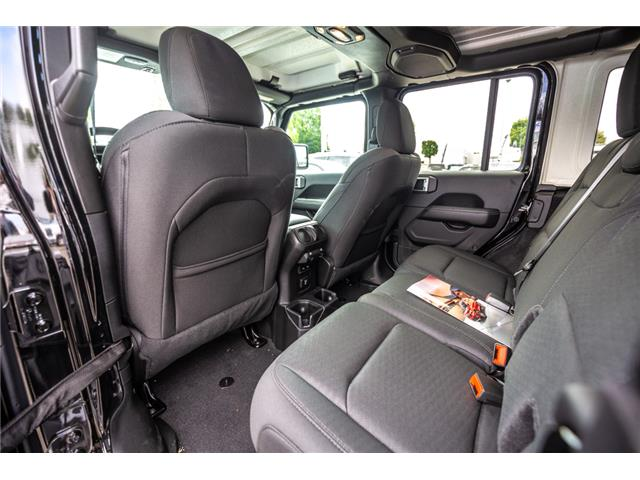 2019 Jeep Wrangler Unlimited Sahara (Stk: K596822) in Abbotsford - Image 15 of 22