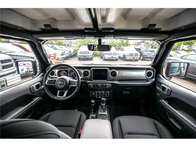 2019 Jeep Wrangler Unlimited Sahara (Stk: K596822) in Abbotsford - Image 16 of 22