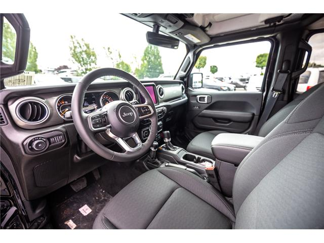 2019 Jeep Wrangler Unlimited Sahara (Stk: K596822) in Abbotsford - Image 18 of 22