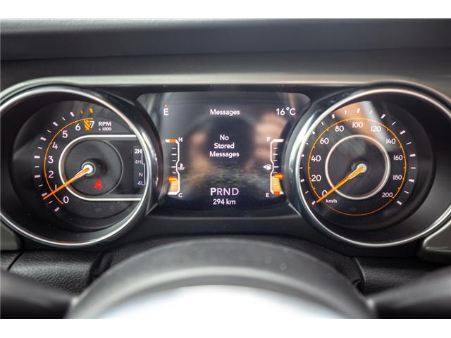2019 Jeep Wrangler Unlimited Sahara (Stk: K596822) in Abbotsford - Image 20 of 22