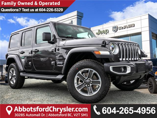 2019 Jeep Wrangler Unlimited Sahara (Stk: K626179) in Abbotsford - Image 1 of 23