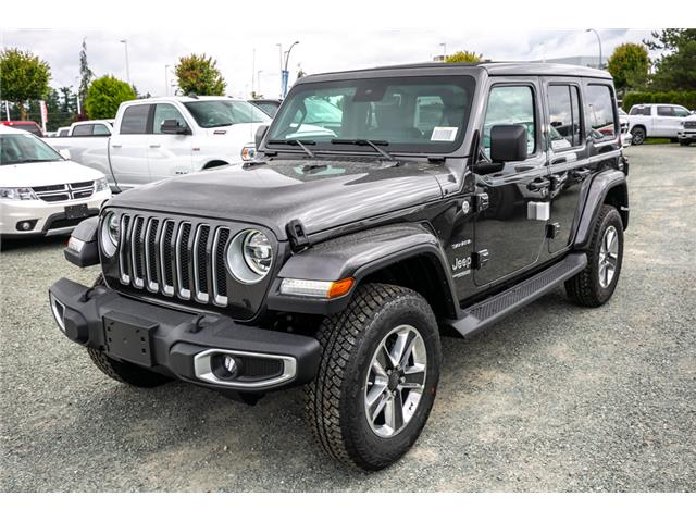2019 Jeep Wrangler Unlimited Sahara (Stk: K626179) in Abbotsford - Image 3 of 23