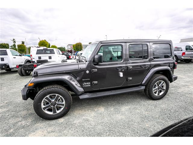 2019 Jeep Wrangler Unlimited Sahara (Stk: K626179) in Abbotsford - Image 4 of 23