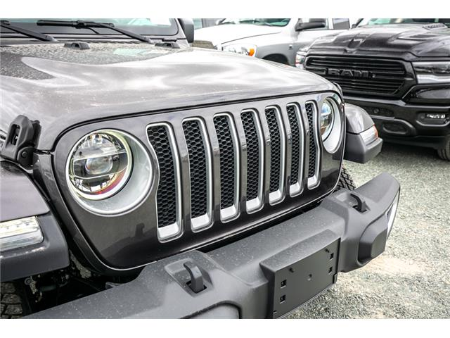 2019 Jeep Wrangler Unlimited Sahara (Stk: K626179) in Abbotsford - Image 10 of 23